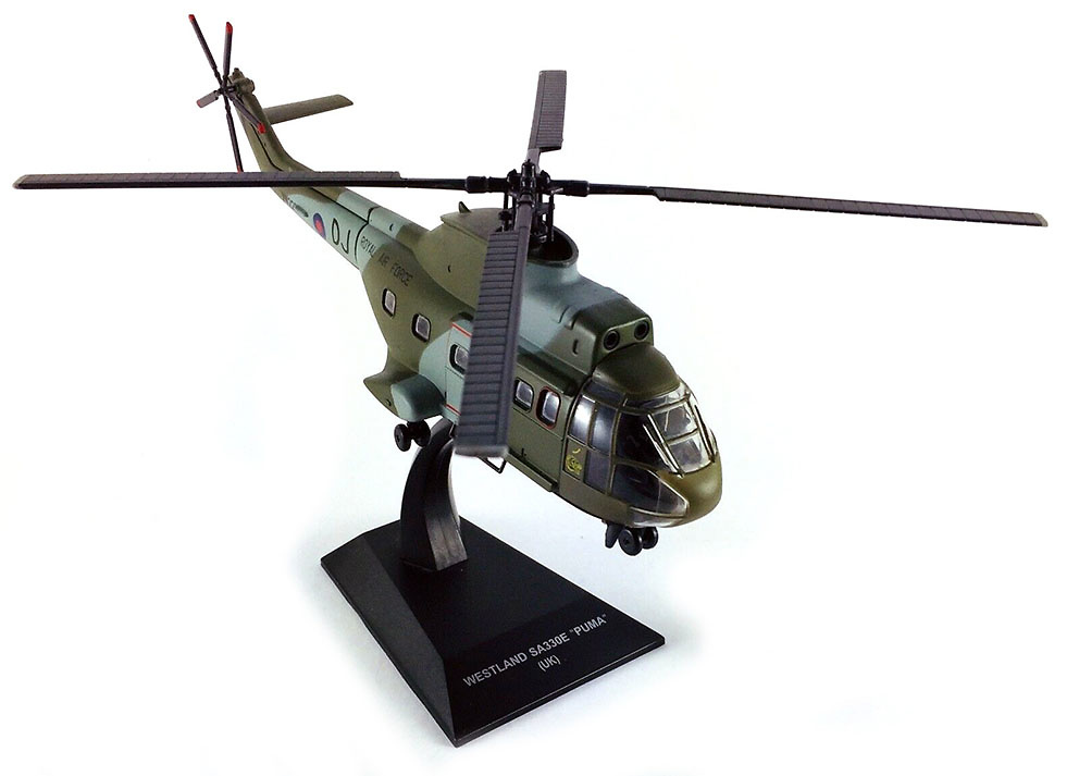 Helicóptero Westland SA330E Puma, U.K., 1:72, Planeta DeAgostini