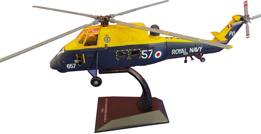 Helicóptero Westland Wessex HAS Mk.3, Royal Navy, 1:72, Planeta DeAgostini
