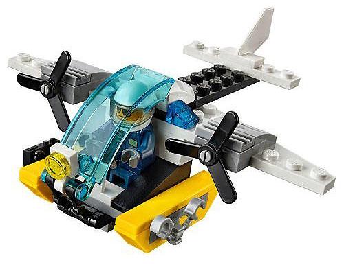 Helicóptero de prisión, Lego City