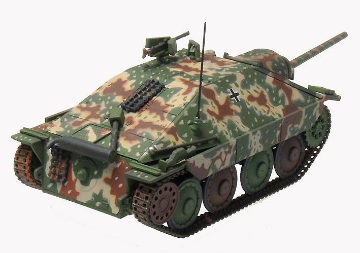 Hetzer (Edición Temprana), Stug.Abt 1708, Francia, Octubre, 1944, 1:72, Panzerstahl
