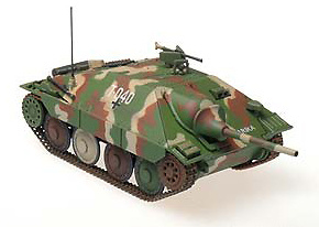 Hetzer (mid) 2.hungarian Panzer Division, March, 1945, 1:72, Panzerstahl