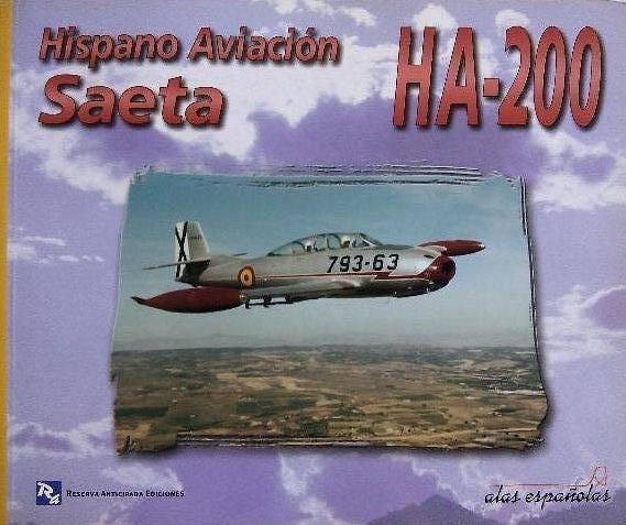 Hispano Aviación Saeta HA-200 (Libro)