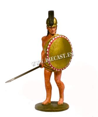 Hoplita, Siglo V aC, 1:30, Del Prado