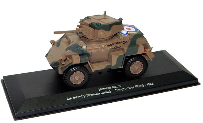 Humber Mk.IV, 8th Inf. Div (India), río Sangro, Italia, 1944, 1:43, Altaya