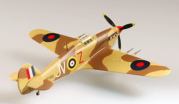 Hurricane MK II/TROP, 6 Sqn, Egipto, 1942,1:72, Easy Model