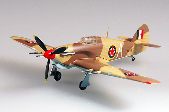 Hurricane MK II/TROP, Yugoslavia, 1944, 1:72, Easy Model