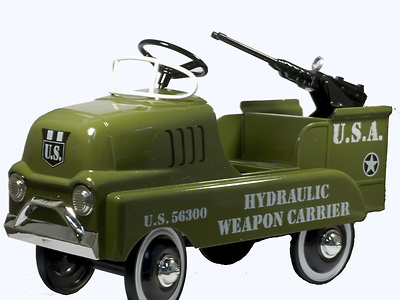 Hydraulic Weapon Carrier Pedal Vehicle, Limited Edition, Xonex Cleve On