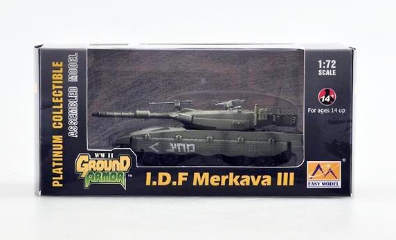 I.D.F Merkava III, Sinaí, 1:72, Easy Model