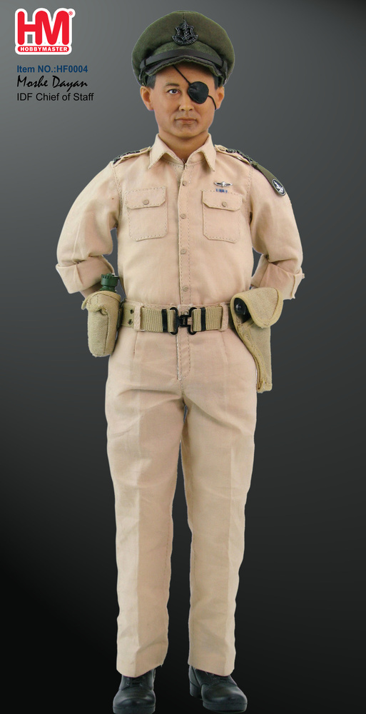 IDF Chief of Staff Moshe Dayan, 1:6, Hobby Master