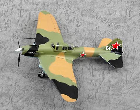 Ilyushin IL-2M3, White 1, Fuerza Aérea Soviética, 1:72, Easy Model