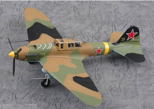 Ilyushin IL-2M3, Yellow 25, 1:72, Easy Model