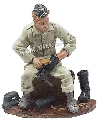 Infante alemán con uniforme de faena, 1940, 1:32, Hobby & Work