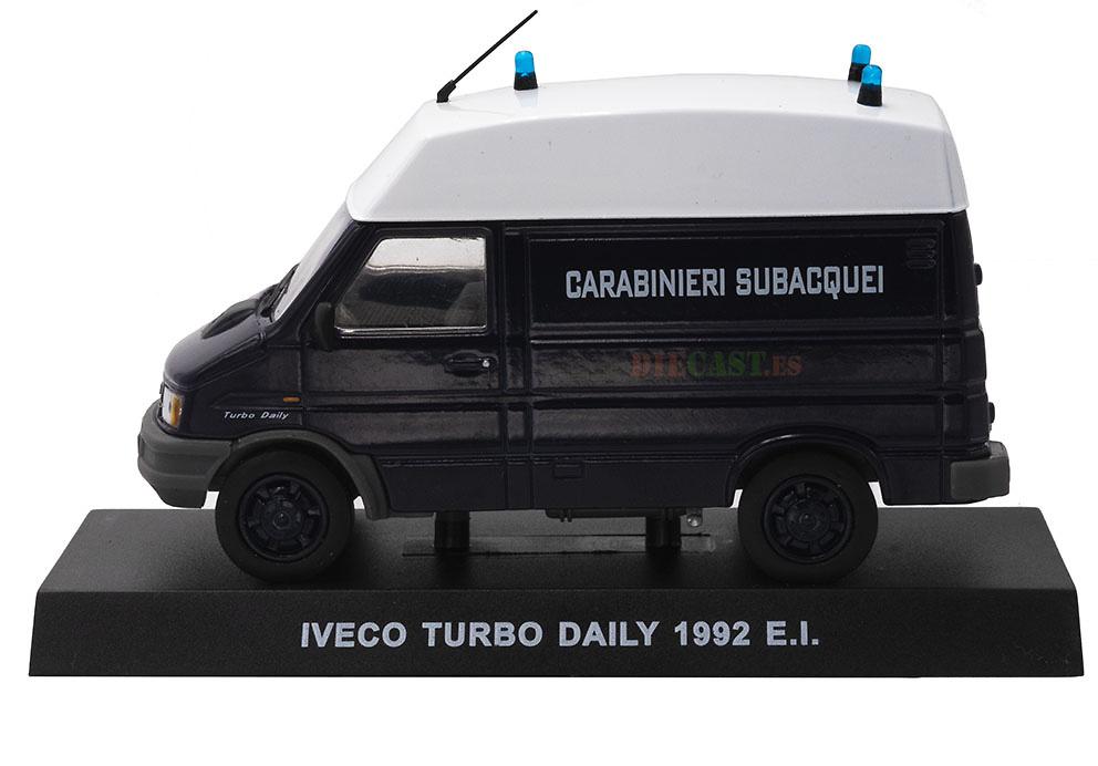 Iveco Turbo Daily, Italia, 1992, 1/43, Colección Carabinieri