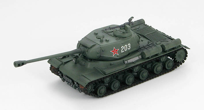 JS-2 Russian, Chinese People's Liberation Army, 1952, 1:72, Hobby Master