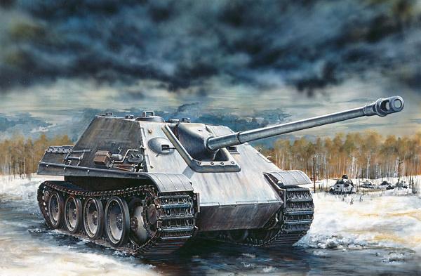 Jagdpanther, SdKfz 173, 1:35, Italeri