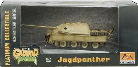 Jagdpanther s.Pz.JgAbt.654, Otoño, 1944, 1:72, Easy Model