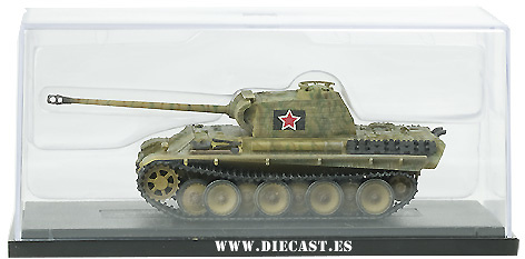 Jagdtiger Henschel, production w/zimmerit, grua, 1:72, Dragon Armor