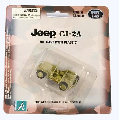 Jeep CJ-2A, 1:87, Hongwell