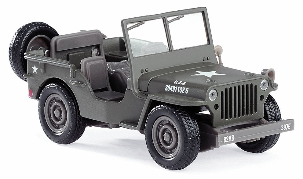 Jeep Willys, Ejército USA, 1:32, NewRay