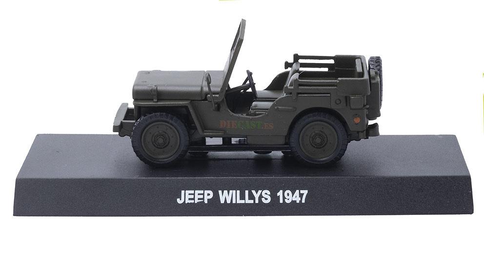 Jeep Willys, Italia, 1947, 1/43, Colección Carabinieri