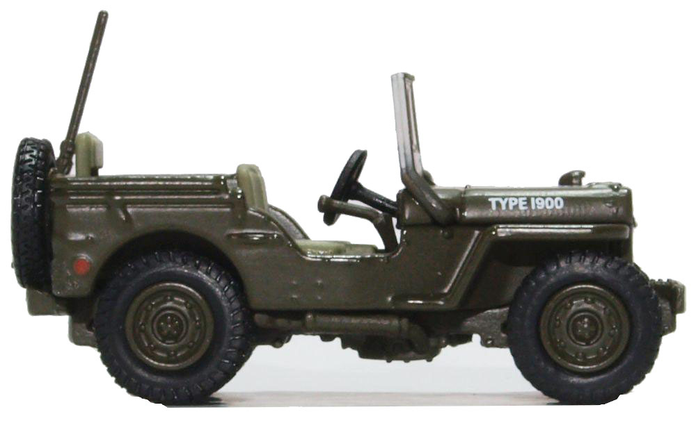 Jeep Willys MB RAF 83 Grp., 2nd Tactical AF 1944-45, 1:76, Oxford