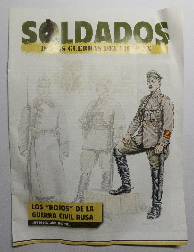 Jefe de Compañía, Ejército Rojo, Guerra Civil Rusa, 1919-21, 1:30, Del Prado