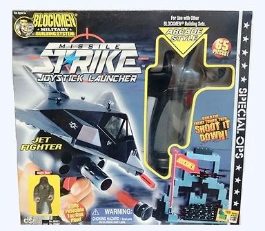 Joystick Launcher, jet fighter, Blockmen