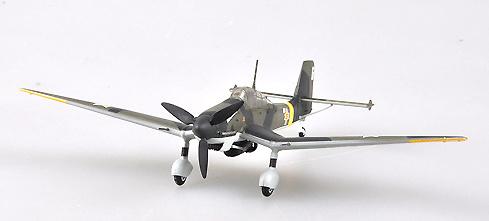 Junkers JU87D-3 Stuka rumano, 1943, 1:72, Easy Model