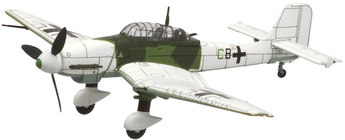 Junkers Ju87 D-5 Stuka, Frente del Este, 1944, 1:72, Altaya