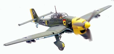 Junkers Ju87B-2, Austria 1941, 1:72, Corgi