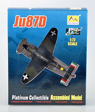 Junkers Ju87D-5 Stuka, 102./1 1943, 1:72, Easy Model