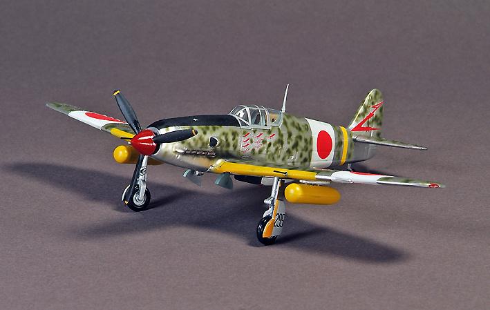KI-61 Hien Type I-HEI, #15, Cabo Seiichi Suzuki, Chofu Ab, Japón, 1945, 1:72, War Master