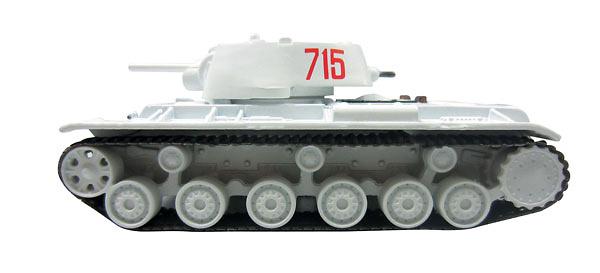 KV-1, tanque soviético, 1:72, DeAgostini
