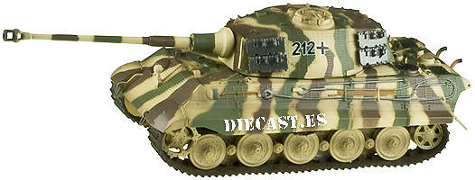 King Tiger (H) s.Pz.Abt. 505, 1:72, Easy Model