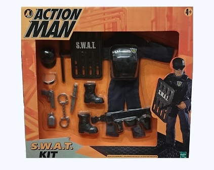 Kit S.W.A.T, Action Man