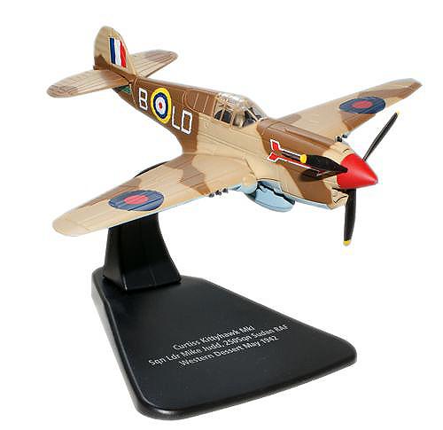 Kittyhawk MkIA, Mike Judd, 250 Squadron, RAF, Campaña del Desierto, Mayo, 1942, 1:72, Oxford