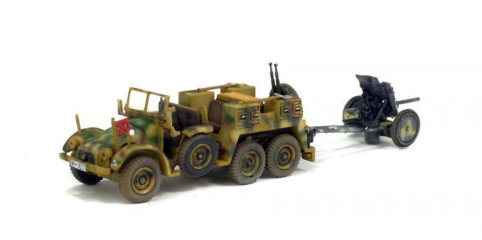 Krupp Protze L2H143 + PAK 35/36, Francia, 1943, 1:72, Solido