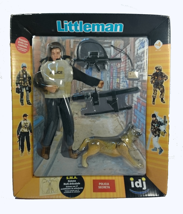 LITTLEMAN, POLICIA SECRETA, 1:10, Ideas de Juguete