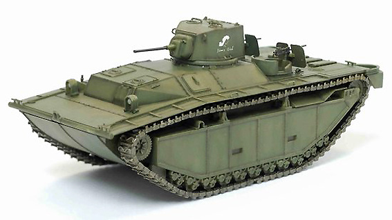 LVT-(A)1, 708th Amphibious Tank Battalion, Ryukyus 1945, 1:72, Dragon Armor