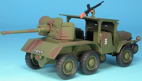 Laffly W15 TCC, vehículo caza carros, Francia, 2ª Guerra Mundial, 1:48, Gasoline