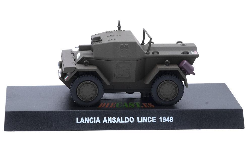 Lancia Ansaldo Lince, Italia, 1949, 1/43, Colección Carabinieri
