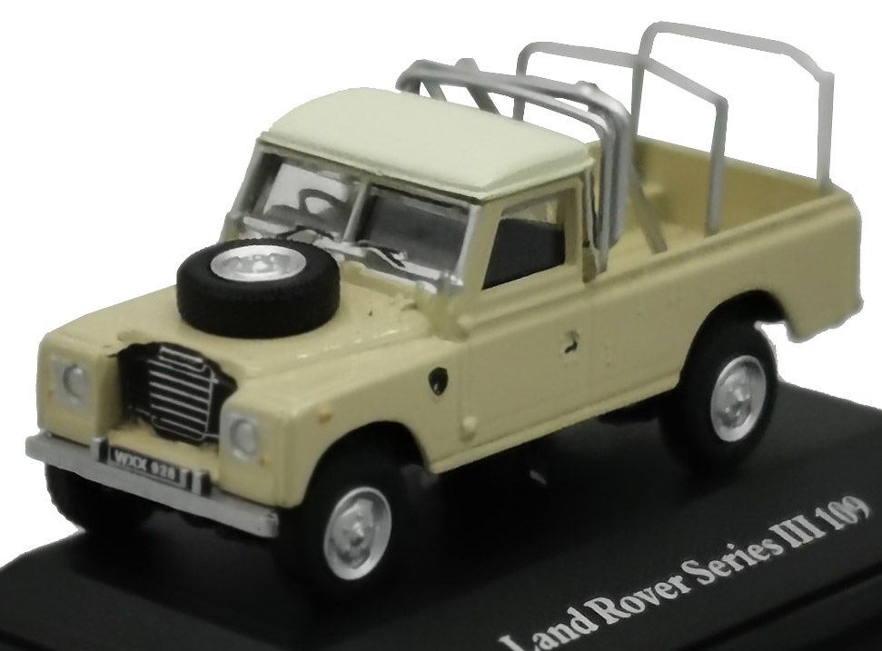 Land Rover 109 III Series, Pick-up, 1:72, Cararama