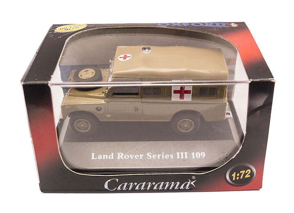 Land Rover 109 Serie III, Ambulancia Militar, 1:72, Oxford