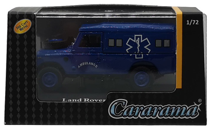 Land Rover 109 Serie III, Capota de lona, Ambulancia, 1:72, Cararama