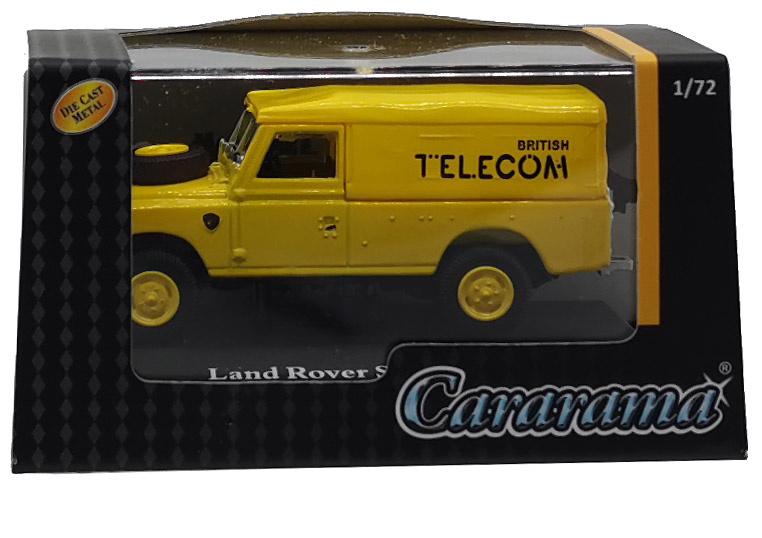 Land Rover 109 Serie III, Capota de lona, Telecom, 1:72, Cararama