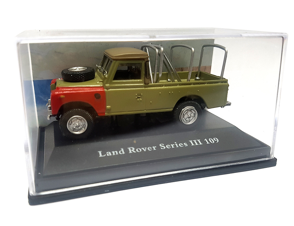 Land Rover 109 Serie III, Pick-up, 1:72, Cararama