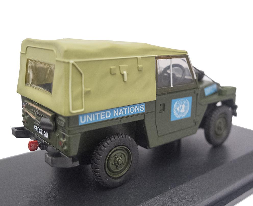 Land Rover 1/2 Ton Ligero, Naciones Unidas , 1:43, Oxford