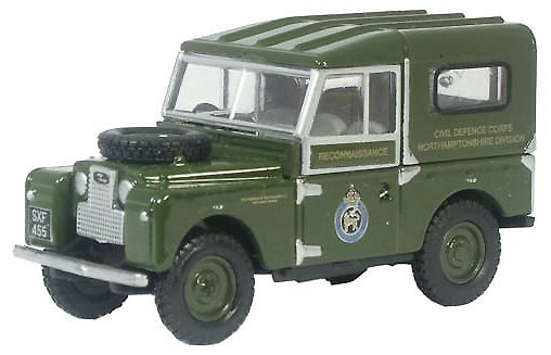 Land Rover 88, Civil Defence, Gran Bretaña, 1:76, Oxford