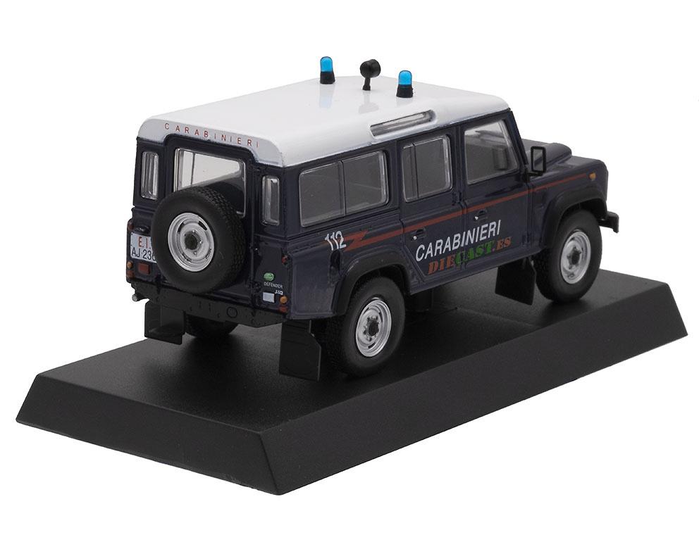 Land Rover Defender 110, Italia, 1995, 1/43, Colección Carabinieri