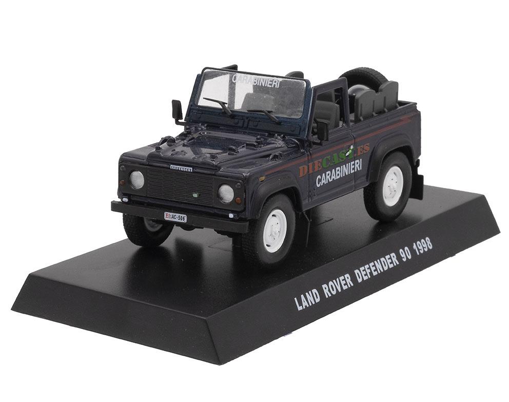 Land Rover Defender 90, Italia, 1998, 1/43, Colección Carabinieri